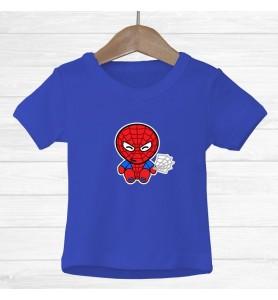 Camiseta Spiderman Infantil