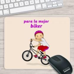 Alfombrilla PC Biker Chica