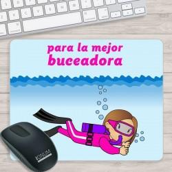 Alfombrilla PC Buceadora
