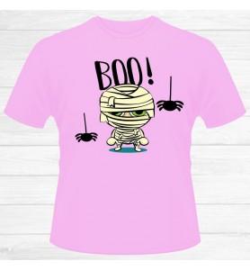 Camiseta Chico Halloween Boo