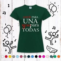 Camiseta Amor Para Una