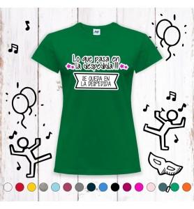 Camiseta Lo Que Pasa