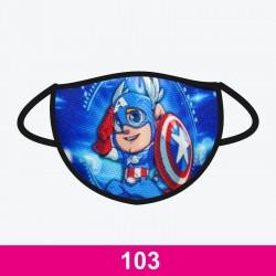 Mascarilla Capitán América,...