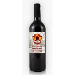 Botella de Vino Logo Equipo