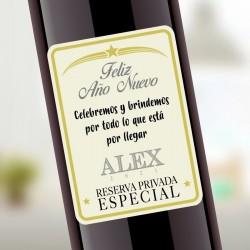 Etiqueta Adhesiva Feliz Año...