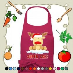 Delantal Rudolf Super Chef