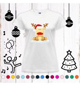 Camiseta Rudolf chica