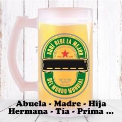 Jarra de Cerveza Familia Chica