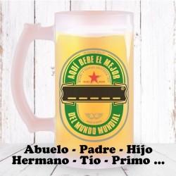 Jarra de Cerveza Familia Chico