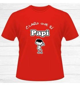 Camiseta Claro que si Papi