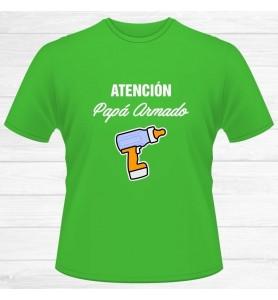 Camiseta Papá Armado