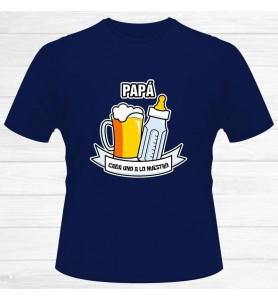 Camiseta Papá Cada Uno A Lo...