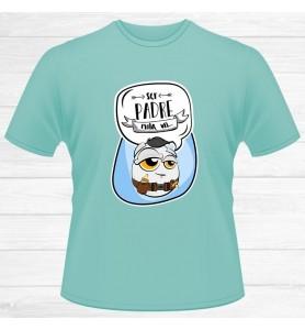 Camiseta Papá Mola Un Huevo