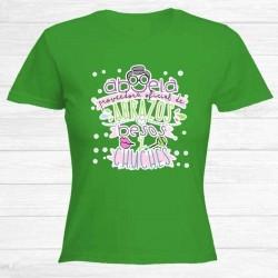 Camiseta Abuela Abrazos...