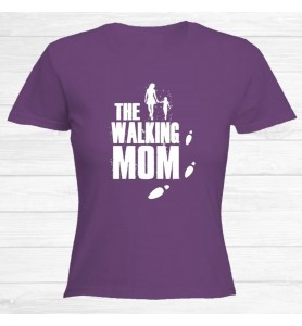Camiseta Walking Mom Blanco