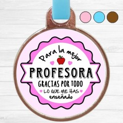 Llavero Pin Profesora