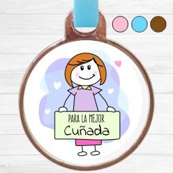 Llavero Cuñada