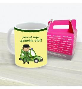 Taza Guardia Civil Coche Chico