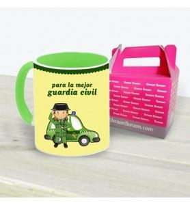Taza Guardia Civil Coche Chica