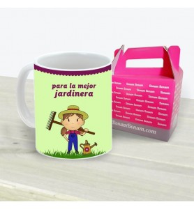 Taza Jardinera