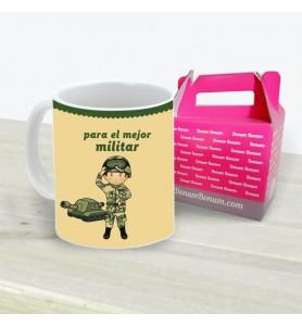Taza Militar Chico