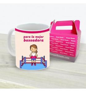 Taza Boxeadora