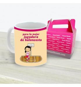 Taza Baloncesto Chica