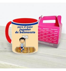 Taza Baloncesto Chico