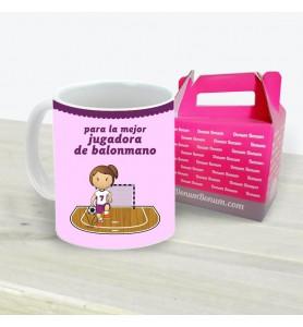Taza Balonmano Chica