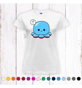 Camiseta Chica Pulpo...