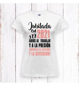 Camiseta Jubilada