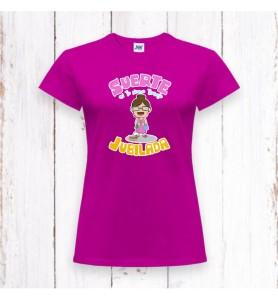 Camiseta Jubilada Suerte