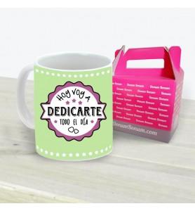 Taza Dedicarte