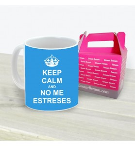 Taza Keep Calm No Me Estreses
