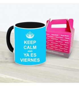 Taza Keep Ya Es Viernes