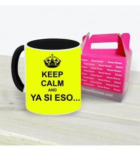 Taza Keep Calm Ya Si Eso