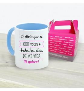 Taza 1000 Veces + Chica