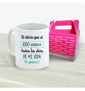Taza 1000 Veces + Chico