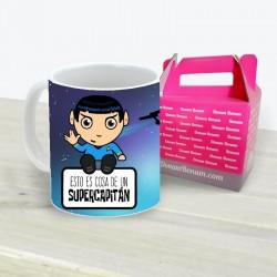 Taza Capitán Spock