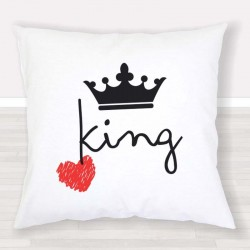 Cojín Pareja King