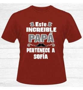 Camiseta Increíble Papá