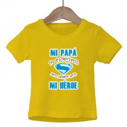 Camiseta niñ@ Papá mi héroe