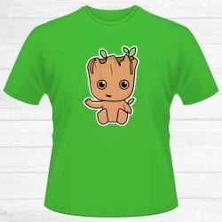 Camiseta Árbol Groot Chico