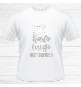 Camiseta Hasta Luego...