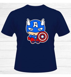 Camiseta Capitán América Chico