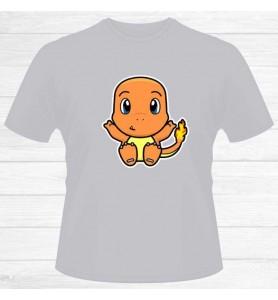 Camiseta Charmander Chico