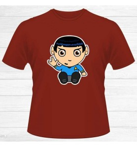 Camiseta Capitán Spock Chico