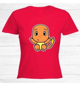 Camiseta Charmander Chica