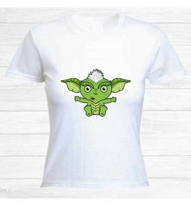 Camiseta Gremlins Malos Chica