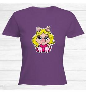 Camiseta Cerdita Peggy Chica